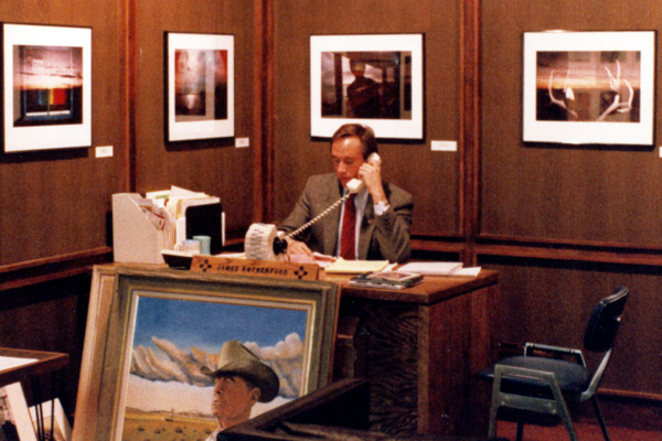 Governor's Gallery - James Rutherford, Director 1986-1992